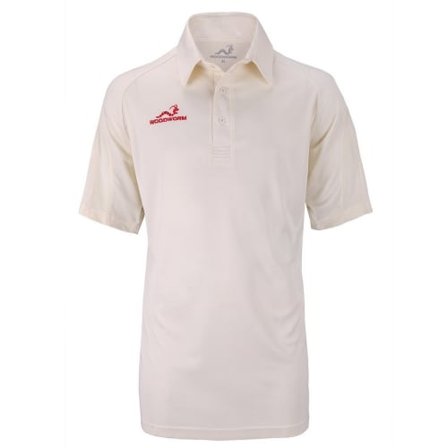 Woodworm Pro Cricket Short Sleeve Shirt