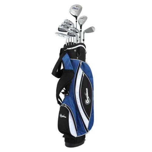 Confidence Golf Mens Power V3 Club Set and Stand Bag - Lefty