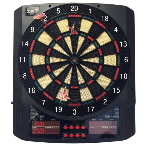 OPEN BOX ZAAP Pro Electronic Soft Tip Darts Board Game
