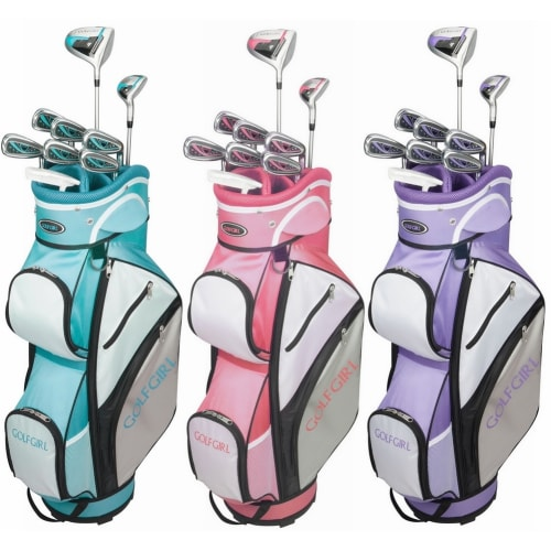 GolfGirl FWS3 Ladies Golf Clubs Set with Cart Bag, All Graphite, Right Hand