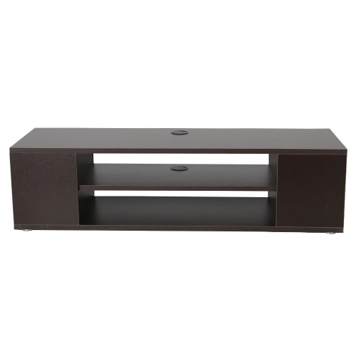 Homegear 1m TV Stand /Bench with Storage, Dark Brown