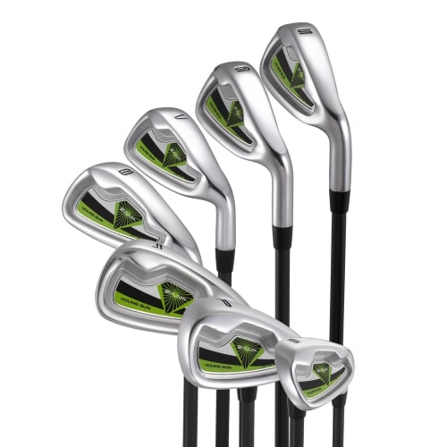 Young Gun ZAAP Junior Golf Irons Green Ages 12-14