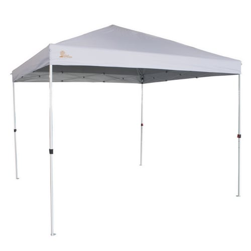 Palm Springs Gazebo Tent Instant Pop-Up Shelter with Wheeled Carry Bag, 3x3M, White