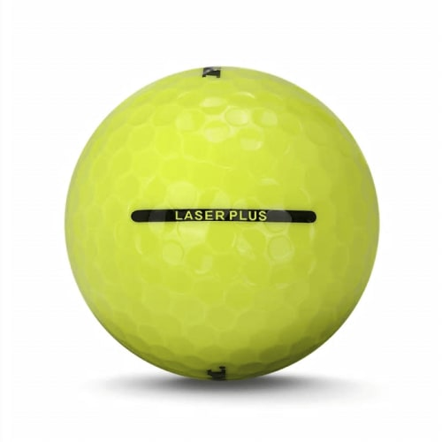 72 RAM Golf Laser Plus Golf Balls - Yellow