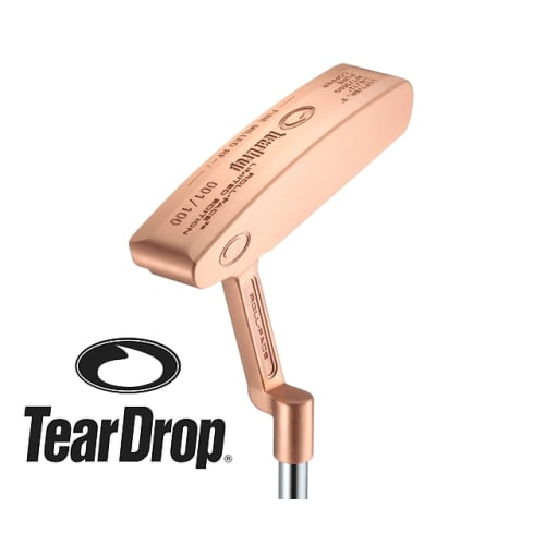 TearDrop Roll-Face Limited Edition RF-2 Copper Putter