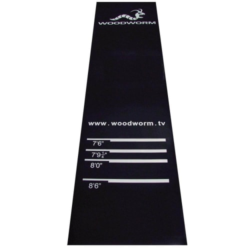 Woodworm Darts Rubber Mat