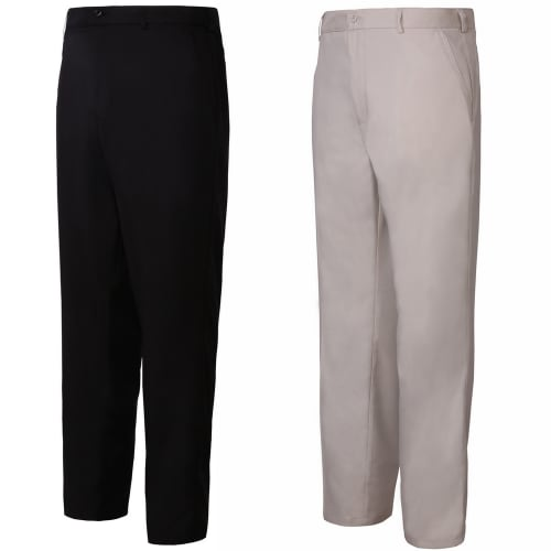 Woodworm Golf 2 Pack Mens Golf Trousers, 1 Black and 1 Beige