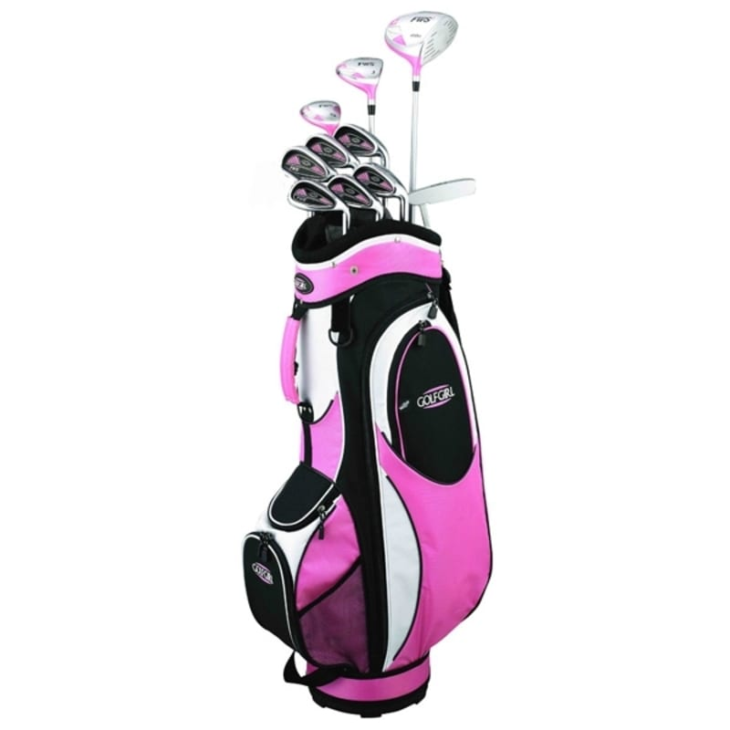 GolfGirl FWS2 Golf Petite Package Set + Bag PINK #