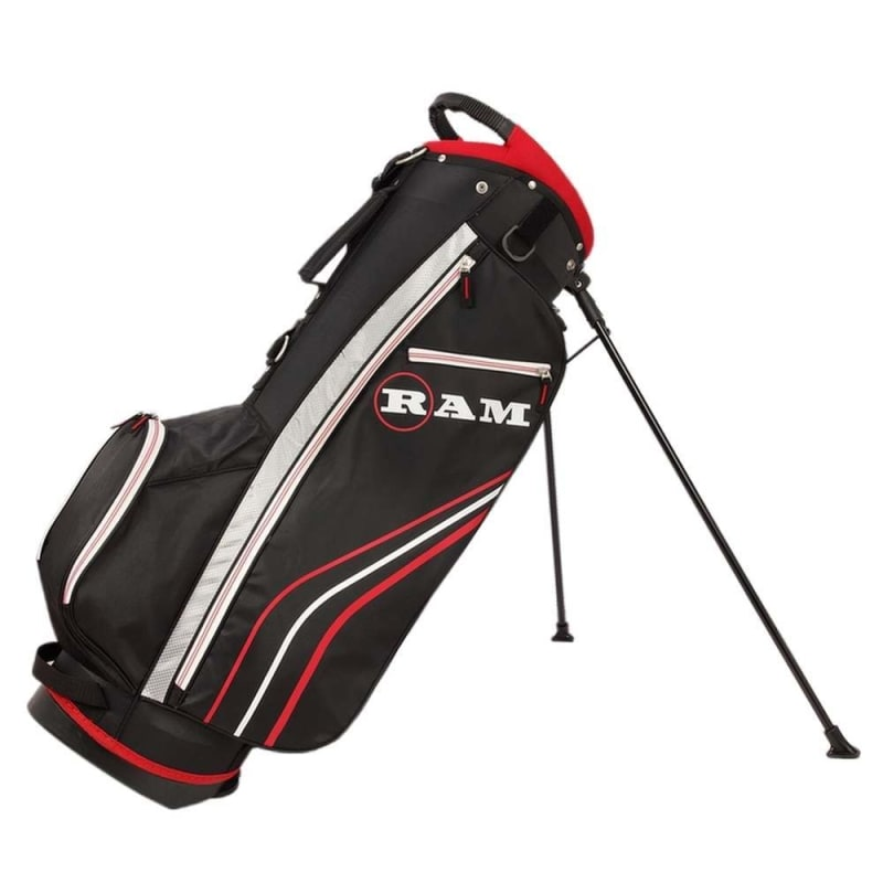 Ram Golf Accubar 12pc Golf Clubs Set - Graphite Shafted Woods, Steel Shafted Irons - Mens Right Hand - Stiff Flex #6