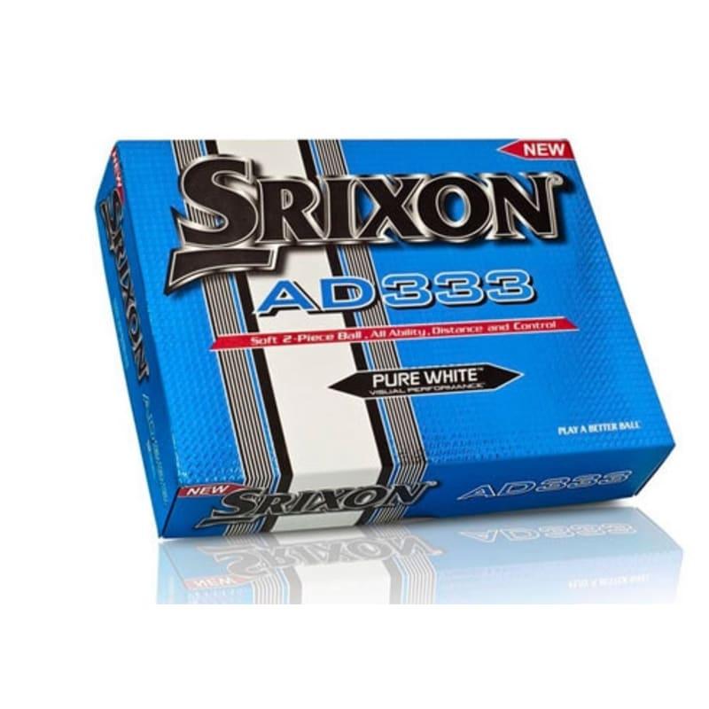6 x 12 Srixon AD333 Golf Balls - White