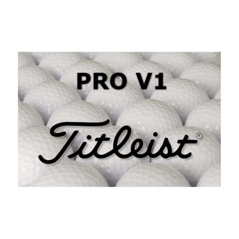 12 Titleist Pro V1 Refinished Lake Balls
