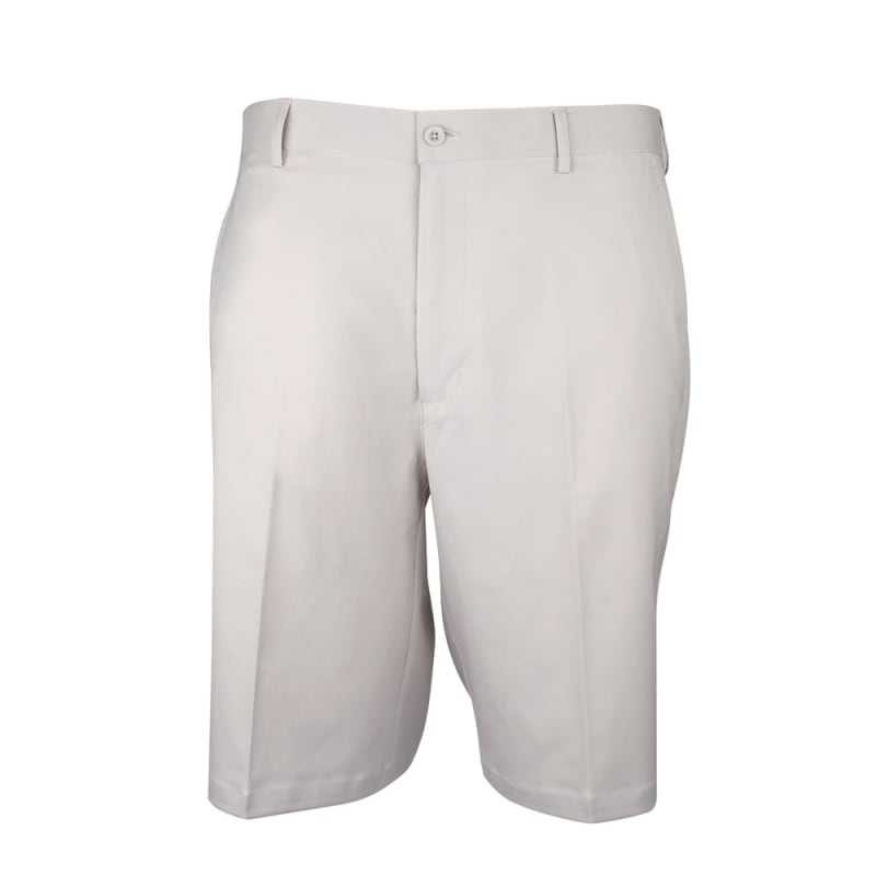 Palm Springs DryFit Flat Front Golf Shorts Cream #