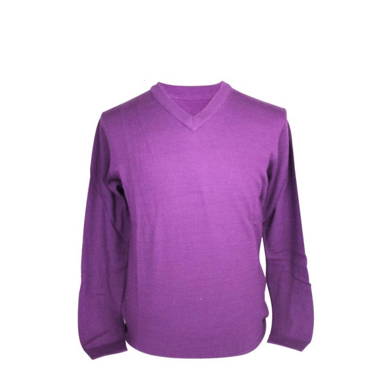 Ashworth Mens Plain V-Neck Sweater