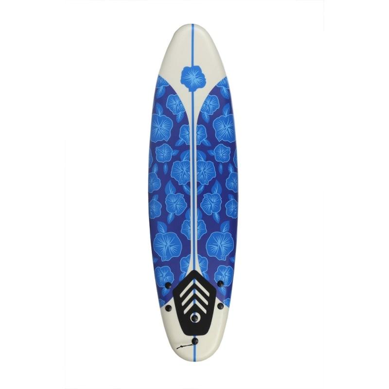 OPEN BOX North Gear 6ft Foam Surfboard Blue / White