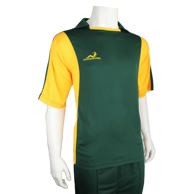 Woodworm Pro Series Training Shirt Green