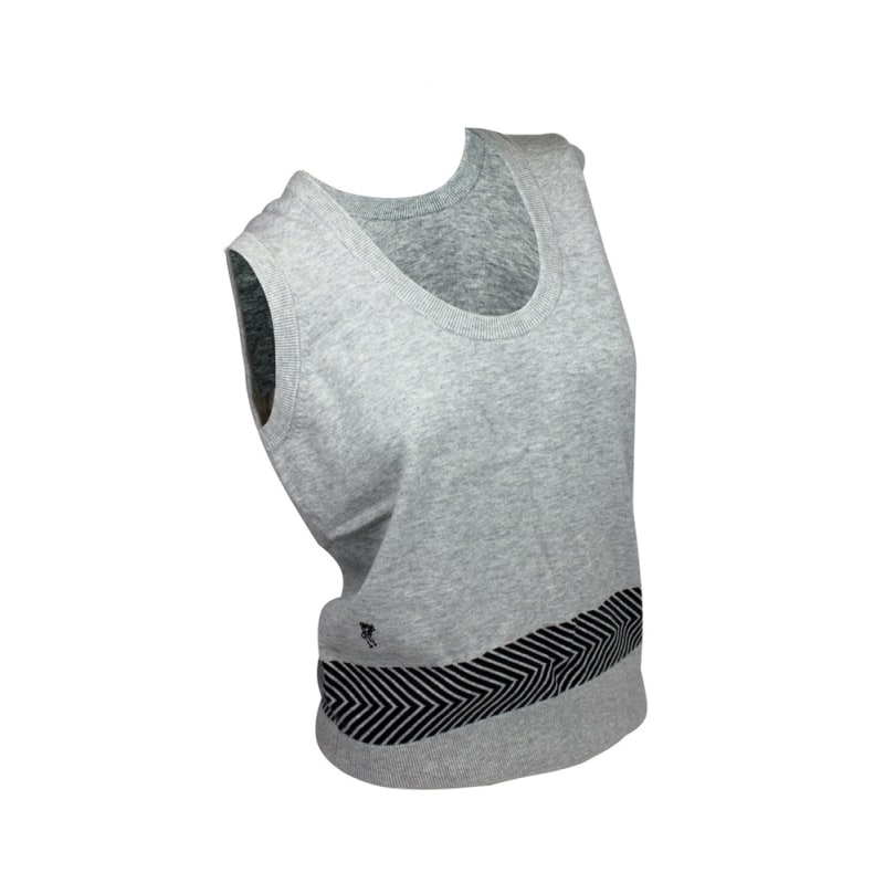 Ashworth Ladies Round Neck Vest With Print