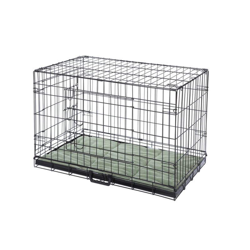 HQ Pet Dog Crate with Bed - Small