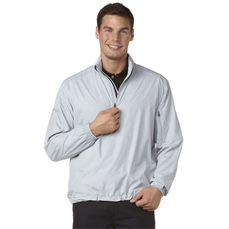Callaway Gust Long Sleeve 1/4 Zip Windshirt Grey