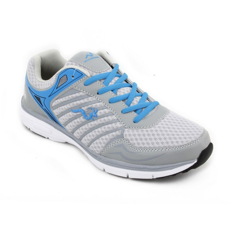 Woodworm MFS Mens Running Shoes / Trainers - Grey