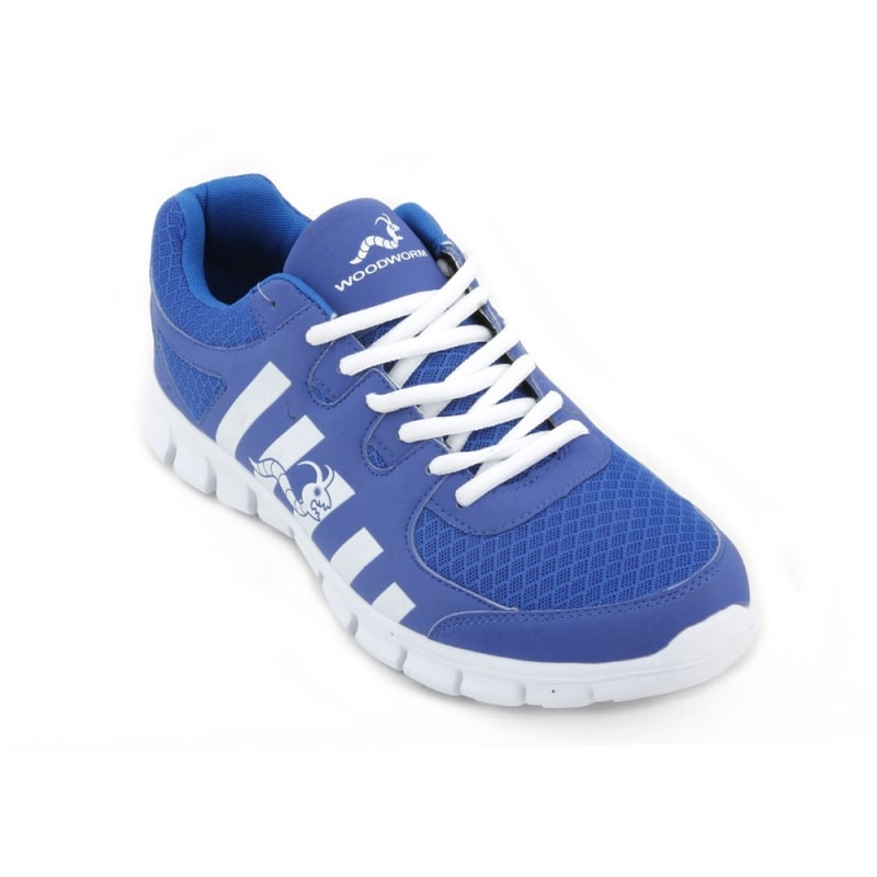 Woodworm CTG Mens Running Shoes / Trainers - Blue