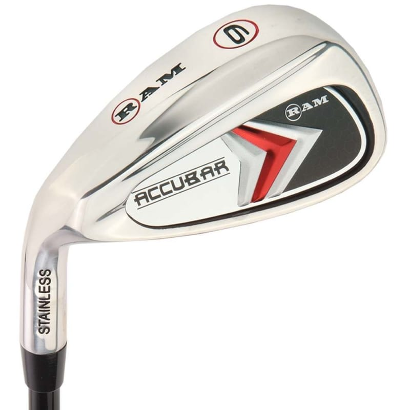 Ram Golf Accubar Mens Clubs All Graphite Iron Set 6-7-8-9-PW with Hybrids 24° and 27° - Lefty #3