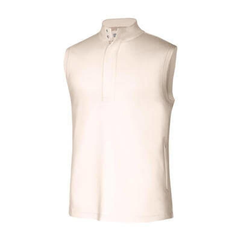 Adidas adiPURE Mens Double Knit Vest Cream