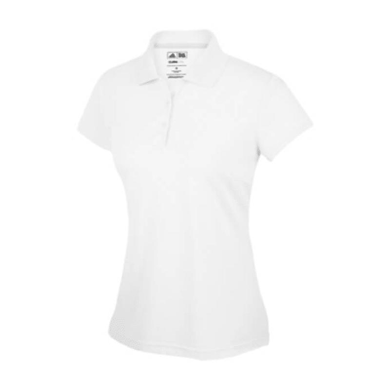 Adidas ClimaLite Ladies Polo White