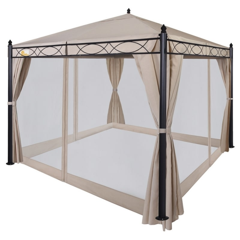 Palm Springs 10 X10 Patio Canopy W Mosquito Net Just