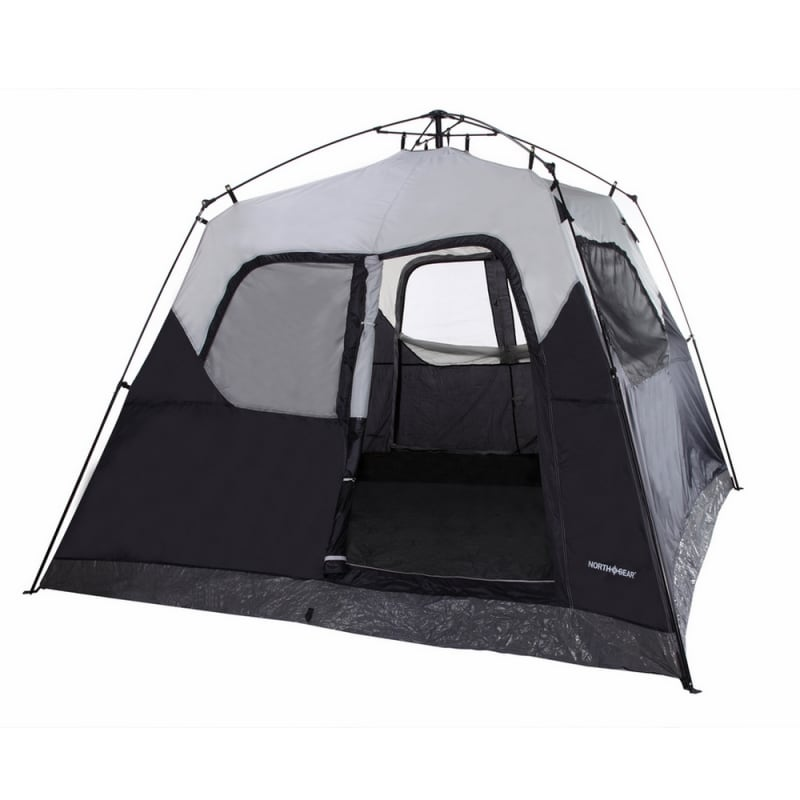 North Gear Camping Pop up 5 Person Instant Tent