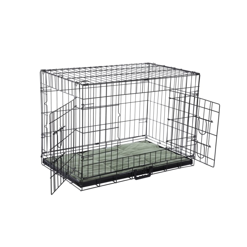 Confidence Pet Dog Crate with Bed - Large #1