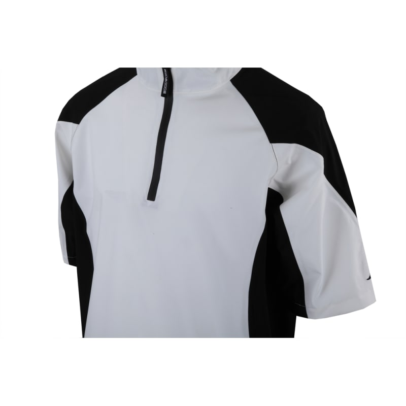 Woodworm Golf V2 Waterproof Half Sleeve Top White #1