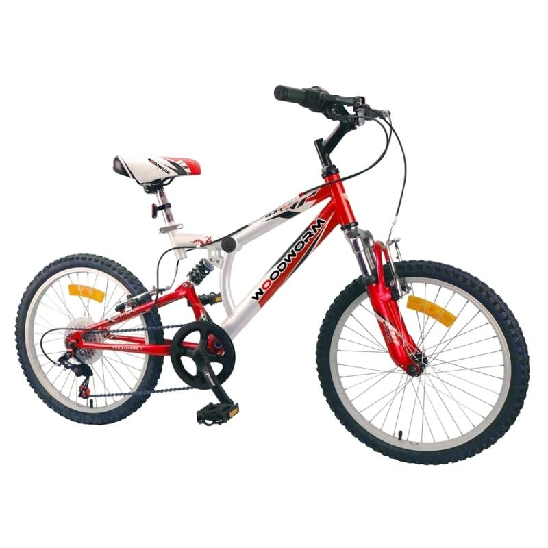 "Woodworm Kids BXI Junior 20"" Mountain Bike Red"