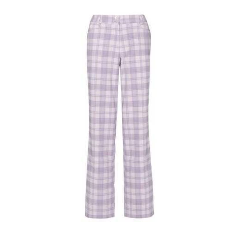 Callaway Ladies Dagmar Plaid Trousers