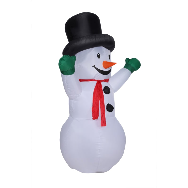 Homegear Christmas 6ft Inflatable Snowman For Indoor/Outdoor Use with LED Lights #1