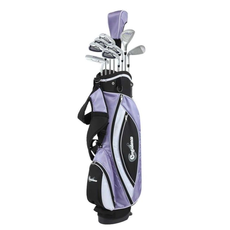 Confidence Golf Lady Power V3 Club Set & Stand Bag #