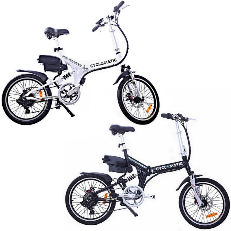 Cyclamatic CX4 Pro Suspension Foldaway Electric Bike #1
