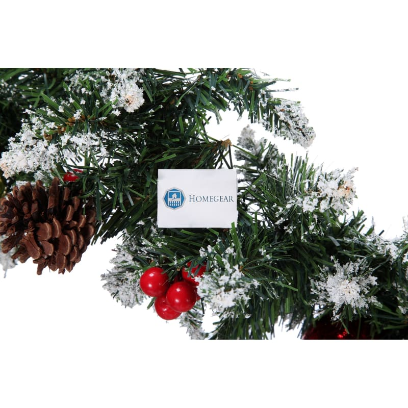 Homegear 9ft Decorated Christmas Garland #5