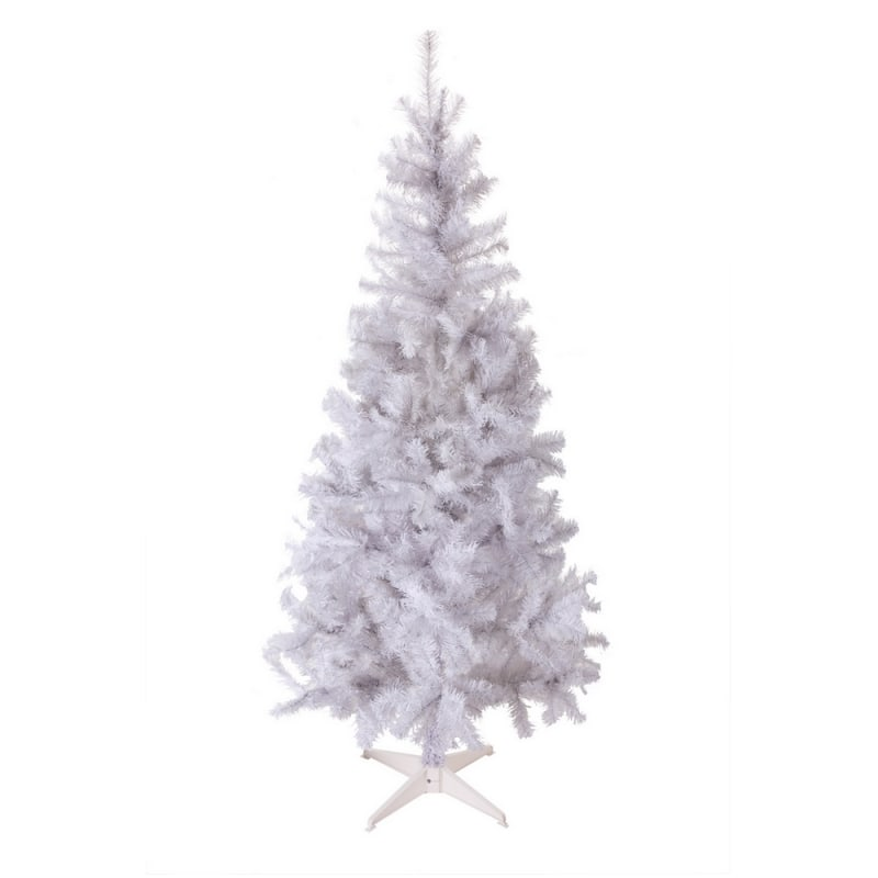 Homegear 6FT Artificial White Christmas Tree #2
