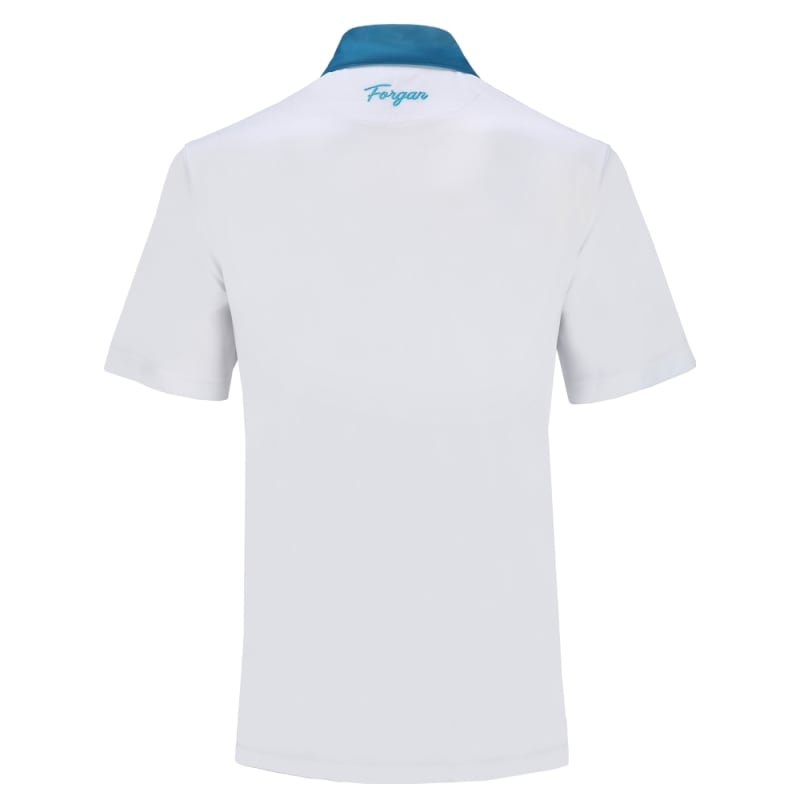 Forgan of St Andrews Block Panel Premium Golf Polo Shirts 3 Pack - Mens #3