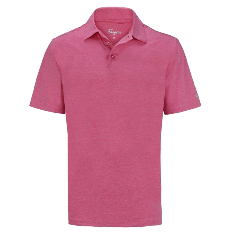 Forgan of St Andrews Premium Heather Golf Shirts 3 Pack - Mens #1
