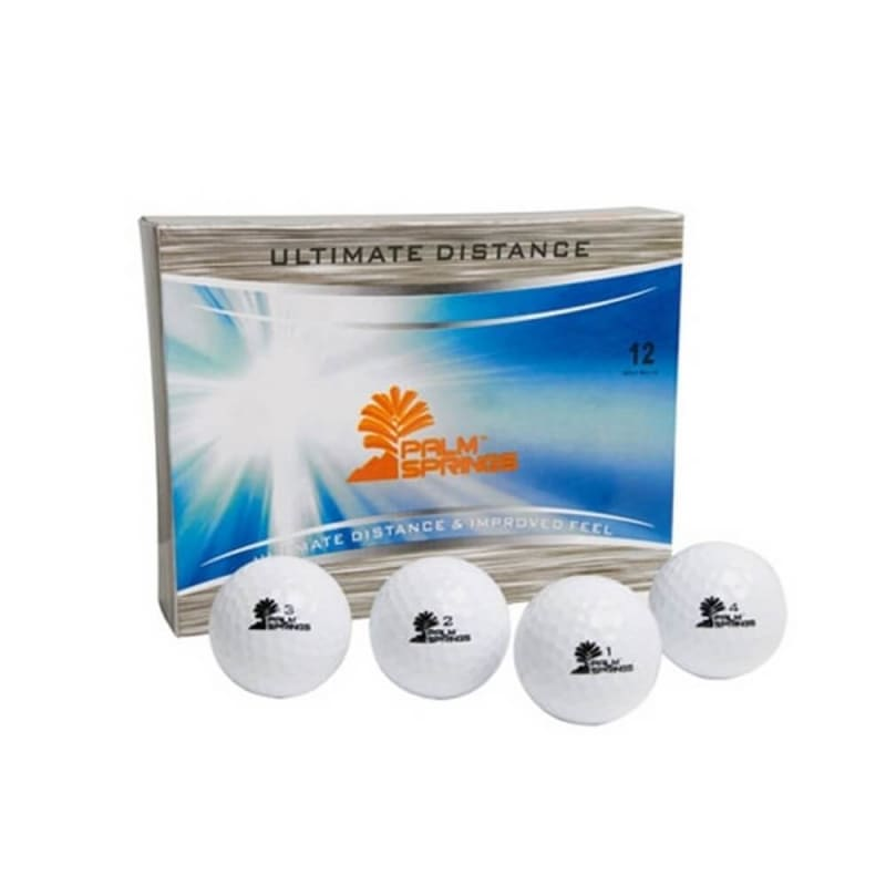 12 Palm Springs Ultimate Distance Golf Balls