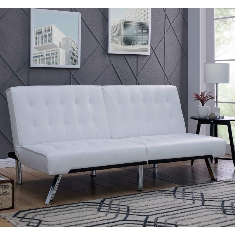 Sensational Open Box Homegear Furniture Futon Sofa Bed Split Back Couch Short Links Chair Design For Home Short Linksinfo