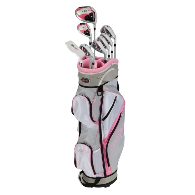 GolfGirl FWS3 Ladies Complete All Graphite Petitie Golf Clubs Set with Cart Bag