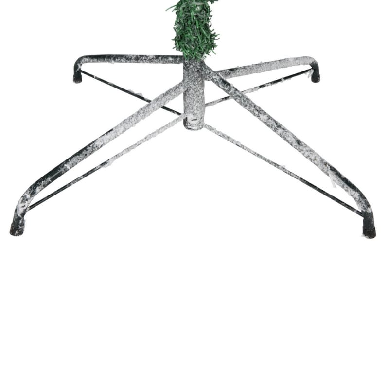 Homegear 7.5ft Artificial Snow Dusted Christmas Tree 1250 tips with Metal Stand and Hinged Branches #2