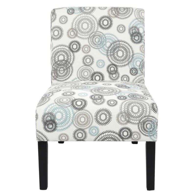 Homegear Home Furniture Accent Armless Chair - Contemporary Designs - Mechanical Gears #1