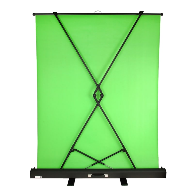 Homegear Portable/Collapsible Pull Up Green Screen Video Photography Background 5ft x 6ft #