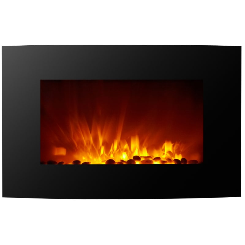 Homegear 1500W Wall Mounted 2-in-1 Electric Fireplace / Heater #