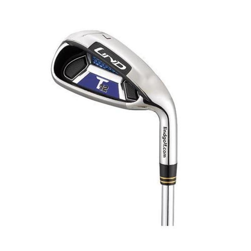 Lind T12 -1 Inch Golf Iron 4-SW Set -1° Flat - Left Hand, Graphite Shaft, Senior Flex #