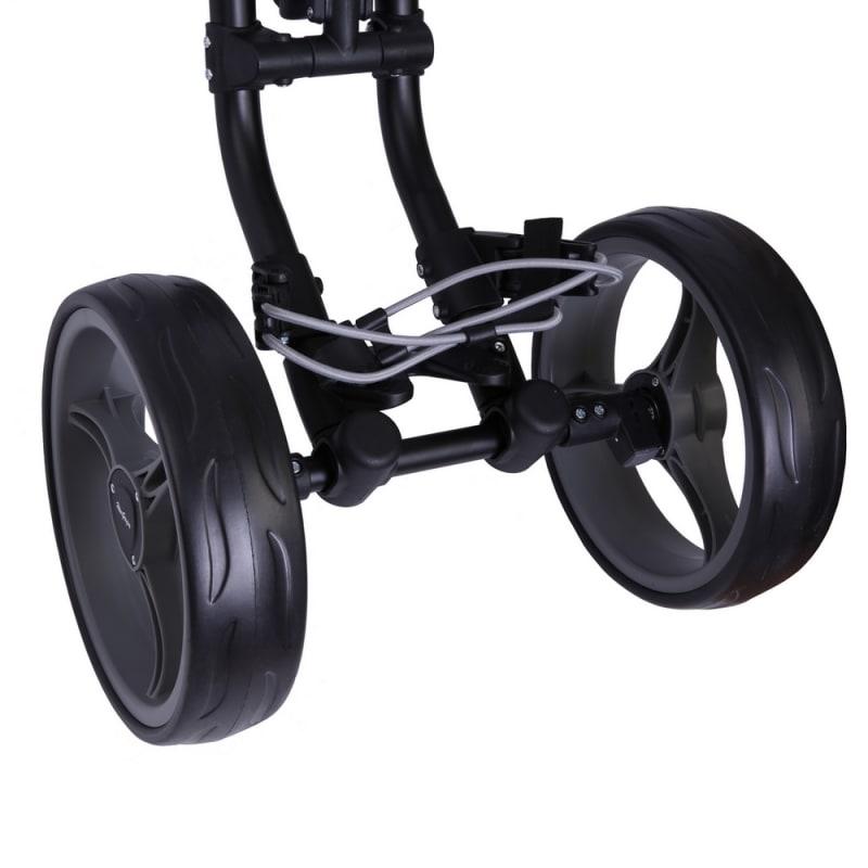 MacGregor Response Deluxe 4 Wheel Golf Cart - Black/Silver #1