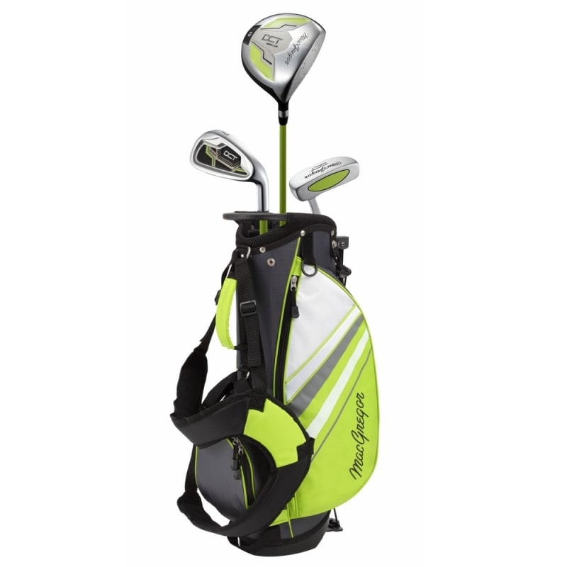 MacGregor Golf DCT Junior Golf Clubs Set with Bag, Right Hand Ages 3-5